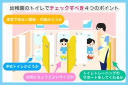 幼稚園選びの中でのトイレの重要性