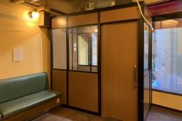 *パーテーション施工事例【喫煙室・喫煙ブース】某喫茶店さま