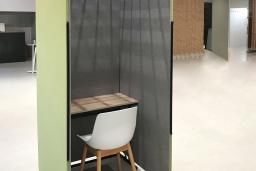 高性能吸音パーソナルブースが新登場!働き方の変化に合わせた個室パーテーション