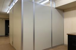 パーテーション施工事例【オフィス 面談室】<br>某事業協同組合さま
