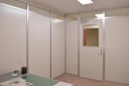 【施工インタビュー 007】 オフィスに部屋を増設するなら、パーテーションがオススメ! その理由とは?(渡辺製作所さま)