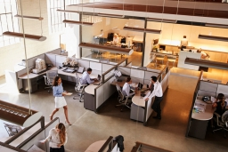 オフィスに合ったパーテーションの種類と素材の選び方